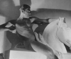 George Hoyningen-Huene,  Horst as an ancient Greek horseman, Paris, 1932