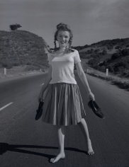 Andre de Dienes, Norma Jean, California Highway, November 1945