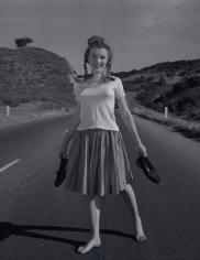 Andre de Dienes, Norma Jean, California Highway, November 1945