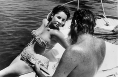 Bert Stern, Elizabeth Taylor and Richard Burton, Ischia, Italy, 1962