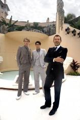 Harry Benson, Tomas Maier, Palm Beach, 2012