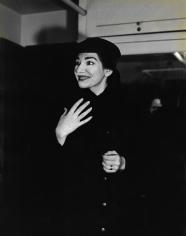 Peter Basch, Maria Callas, Chicago, 1955