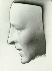 Man Ray, Death Mask (thought to be Amadeo Modigliani), 1928