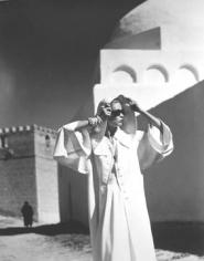 Louise Dahl-Wolfe  Natalie in Gres Coat, Kairouan, 1950