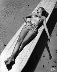 Bruno Bernard, Across the Board Jane Greer, 1940's