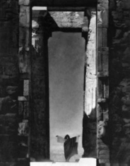 Edward Steichen, Isadora Duncan at the Portal of the Parthenon, Athens, Greece, 1921