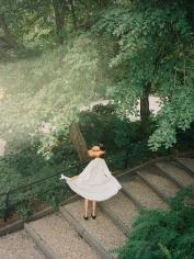 Sophie Elgort, Hikari in Central Park, Elle Japan, 2018