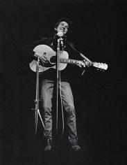 Daniel Kramer, Bob Dylan Performing at Lincoln Center, New York, 1964