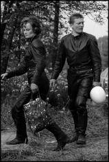 Leonard Freed, Motorbike Couple, West Germany, 1965