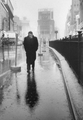 Dennis Stock, James Dean in Times Square, 1955