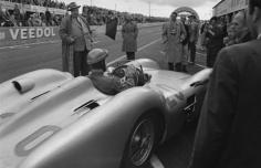 Jesse Alexander, Karl King, Mercedes W196, Grand Prix of France, Reims, France, 1954
