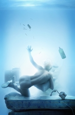 David LaChapelle,  Courtney Love: Water 2, 2007