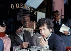 Daniel Kramer, Bob Dylan at O'Henry's Cafe, New York, 1965