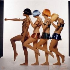 Bert Stern, Paris Collections, Courreges, Vogue, 1967