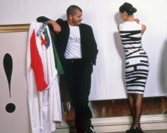 Harry Benson, Moschino, Milan, 1987