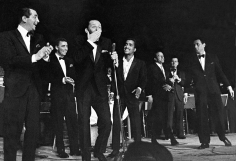 Phil Stern, The Rat Pack Performing at the Sands, Las Vegas, 1953