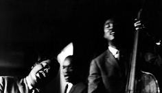 Phil Stern, Oscar Peterson, Ed Thigpen and Ray Brown, 1958