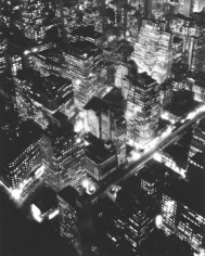 Bernice Abbott, Nightview, New York, 1932