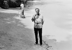 Harry Benson, Ian Fleming, Jamaica, 1964