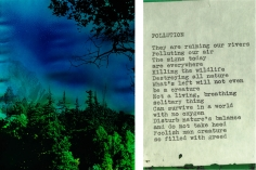 Kali, Blue Tahoe Diptych