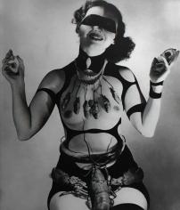 """Horst P. Horst Costume Design by Salvador Dali for """"Dream of Venus,"""" 1939"""