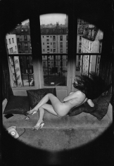 Helmut Newton, Suzy at home, Paris, 1974