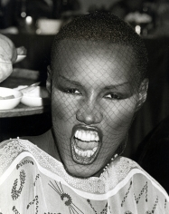 Ron Galella, Grace Jones at the Billboard Disco Convention, New York, 1979