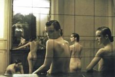 Deborah Turbeville, Five Girls in a Room in Pigalle, Paris, VOGUE Italia, 1982