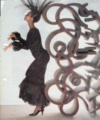 Norman Parkinson, Iman, Patrick Lannan Museum, 1983