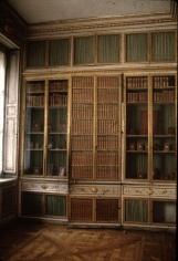 "Deborah Turbeville, Marie Antoinette's Library, from ""Unseen Versailles"", 1980"