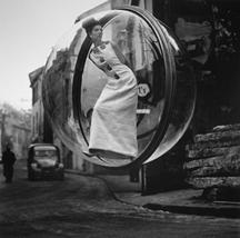 Melvin Sokolsky, Delvaux Street, Paris, 1963