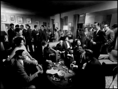 Cornell Capa, Literary Cocktail Party at George Plimpton's Apartment, NYC 1963