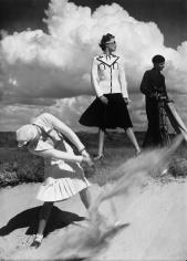 Norman Parkinson, Golfing at Le Touquet, France, Harper's Bazaar, 1939