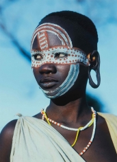 Carol Beckwith and Angela, Fisher Surma Girl, Ethiopia