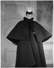 Louise Dahl-Wolfe, Luki in Balenciaga Coat, 1953