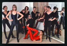 Harry Benson Halston with Models, New York, 1977