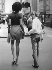 Bruce Laurance, Woody Allen and Tamara, 57th Street Bridge, New York, 1971