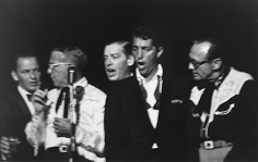 David Sutton,  Share party: Frank Sinatra, George Burns, Milton Berle, Dean Martin, and Jack Benny, 1960