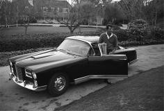 Avery, Dean Martin with his Facel Vega KH500, 1961