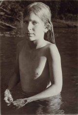 Sheila Metzner, Evyan. Kinderhook Creek. 1975