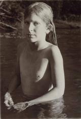 Sheila Metzner, Evyan. Kinderhook Creek. 1975