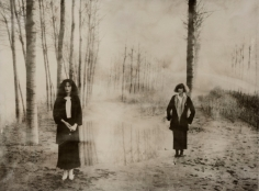 Deborah Turbeville, Women in The Woods: Isabella and Elle in Blumarine, VOGUE Italia, Montova, Italy, 1977