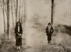 Deborah Turbeville, Women in The Woods: Isabella and Elle in Blumarine, VOGUE Italia, Montova, Italy, 1977