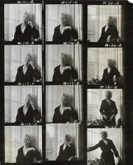 Cecil Beaton, Marilyn Monroe, New York, 1956 (Contact Sheet)