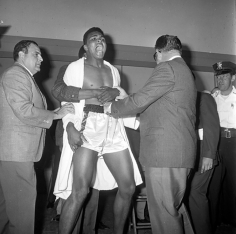 Harry Benson, Muhammad Ali Weigh-In, Miami, 1964