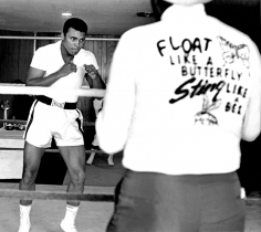 Harry Benson, Muhammad Ali: Float like a Butterfly, Miami, 1964