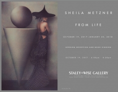 Sheila Metzner, Exhibition Invitation