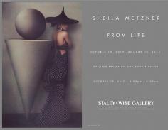 Sheila Metzner, Exhibition Invitation
