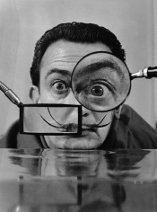 Willy Rizzo Salvador Dali, Paris, 1950