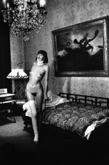 Helmut Newton, Jenny Kapitän in the Pension Dorian, Berlin, 1977